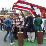 Мастер-класс на Красной площади